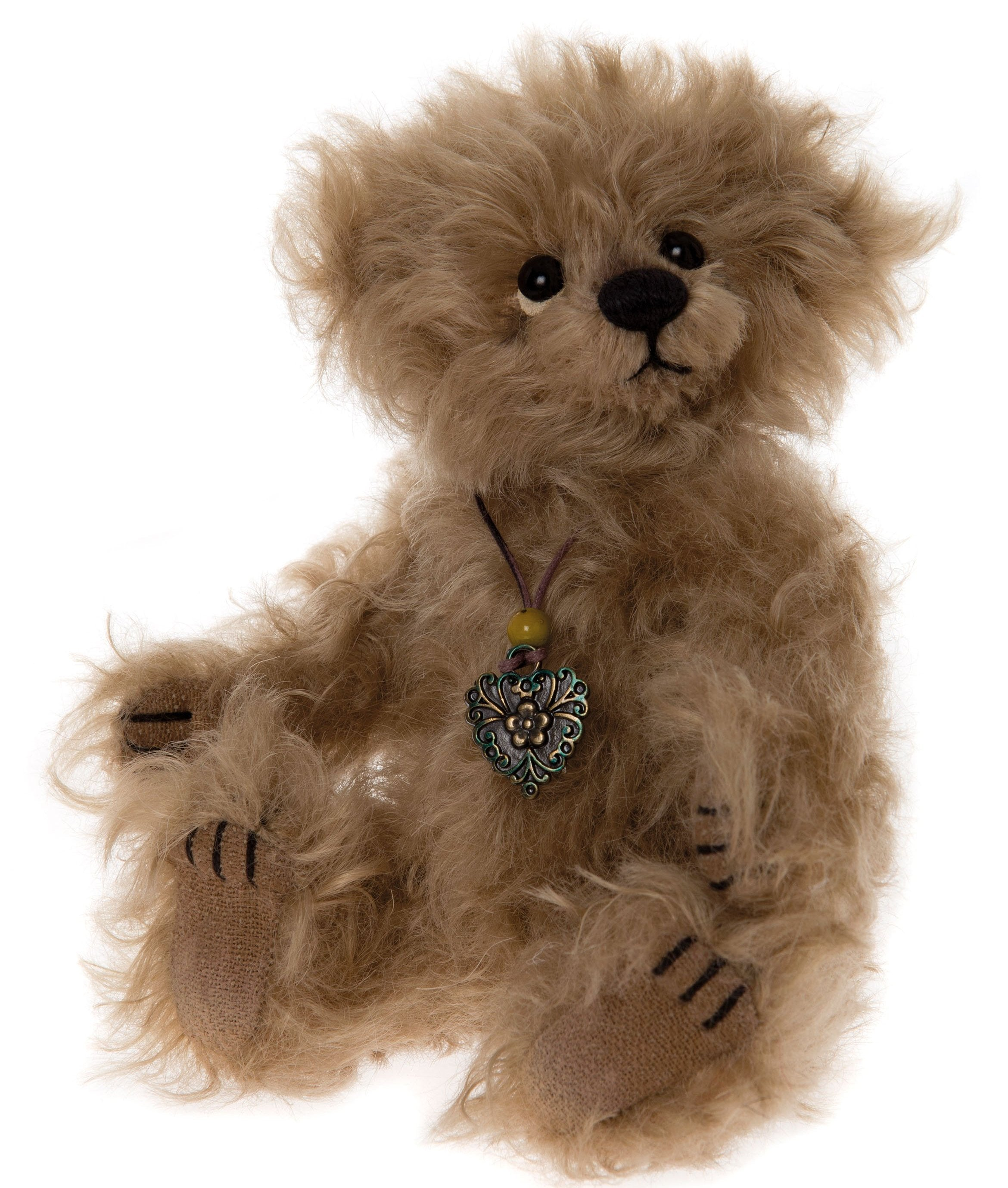 Charlie Bears Flute Bear - Mini Jointed Teddy Bears
