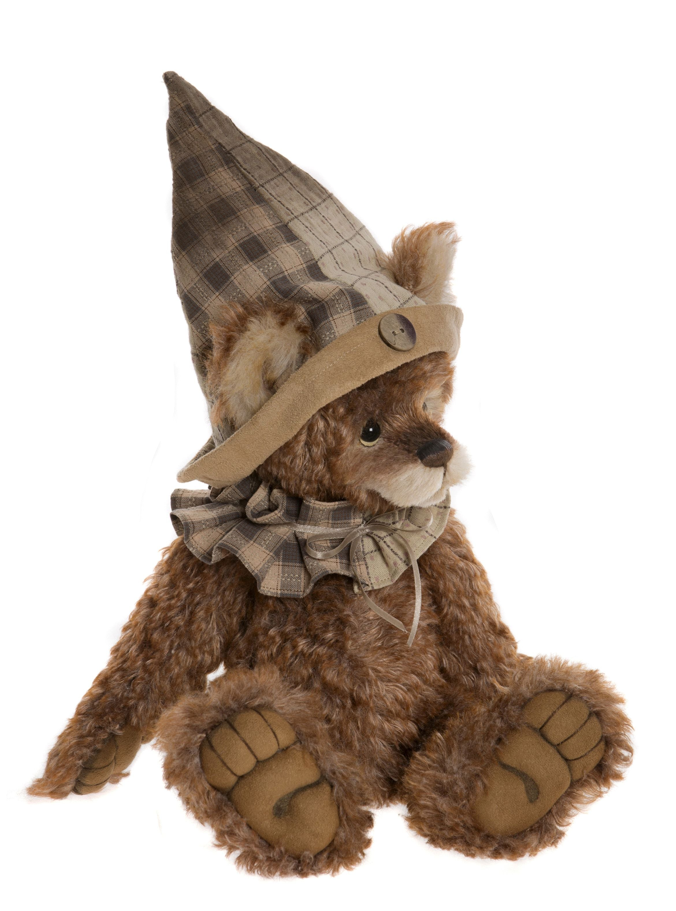 Charlie Bears Grimaldi Mohair Bear with Hat