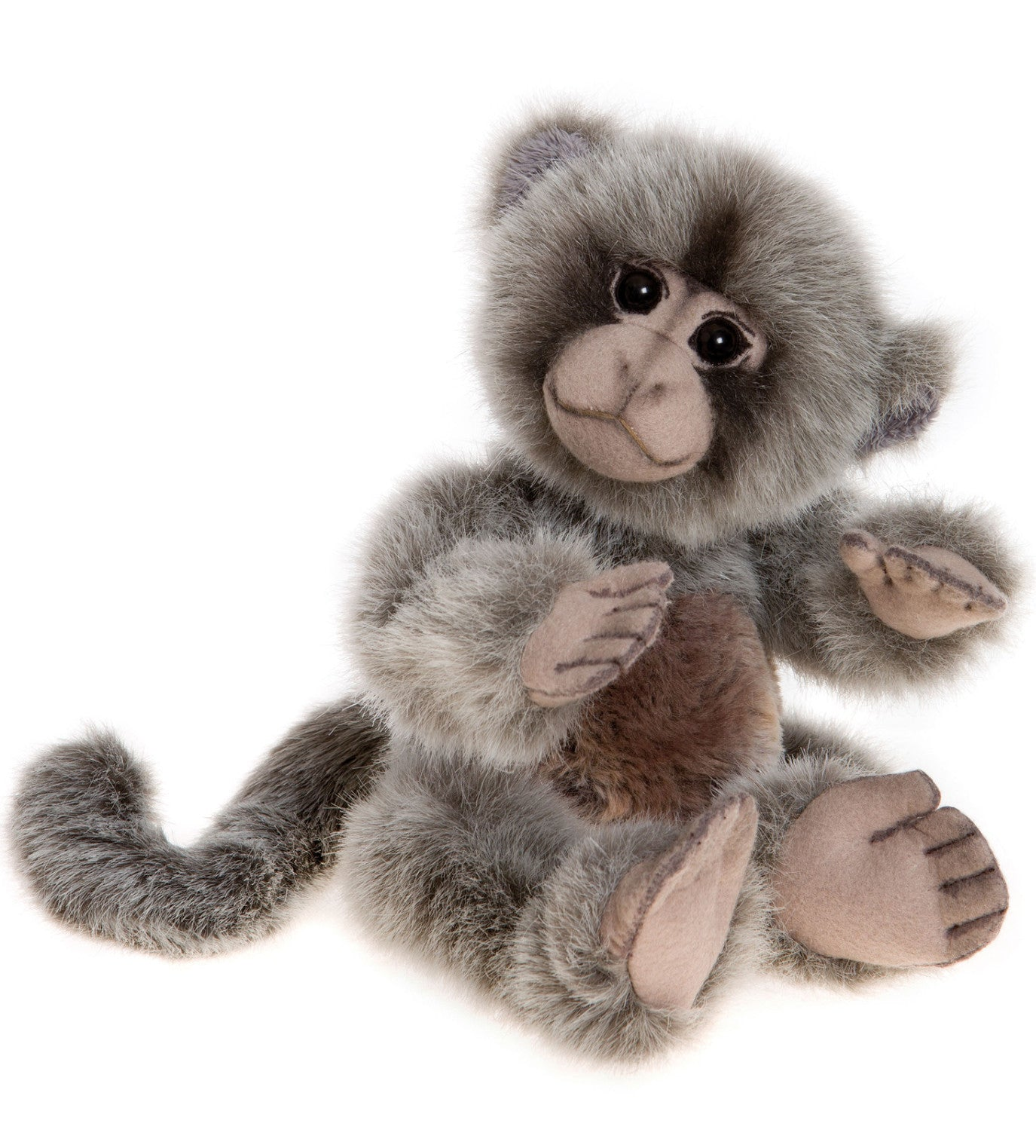Charlie Bears Lazlo Baby Monkey Stuffed Animal
