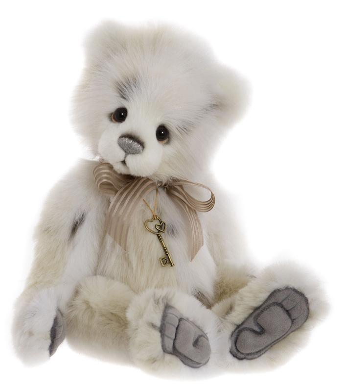 Charlie Bears Licky Tissue Teddy Bear