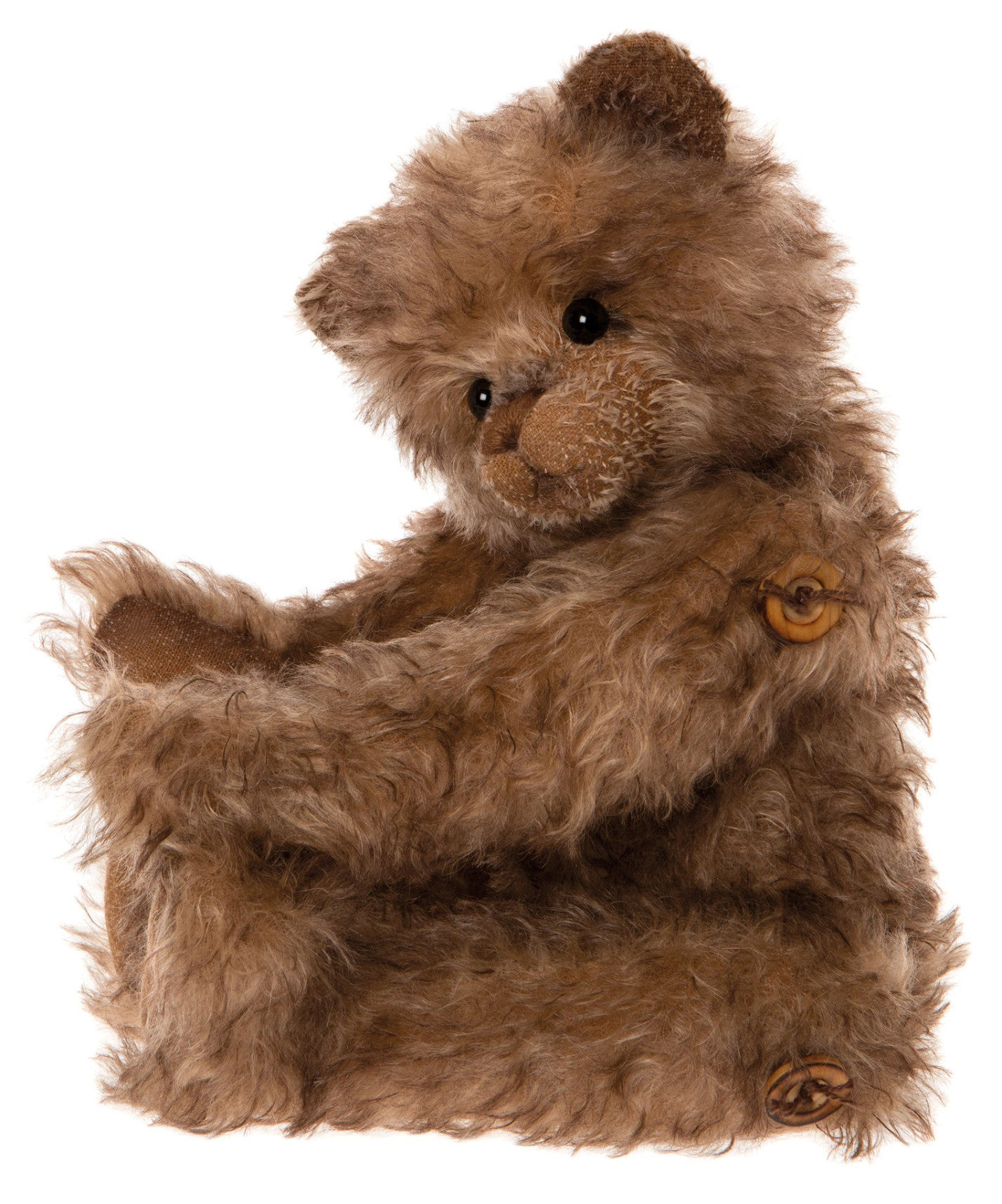 Charlie Bears Little Bear Lost Mohair Antique Style Teddy