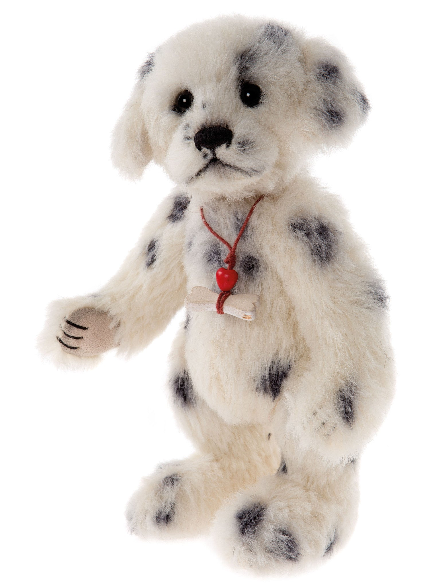 Charlie Bears Polka Dot Dalmation Puppy Dog Stuffed Animal
