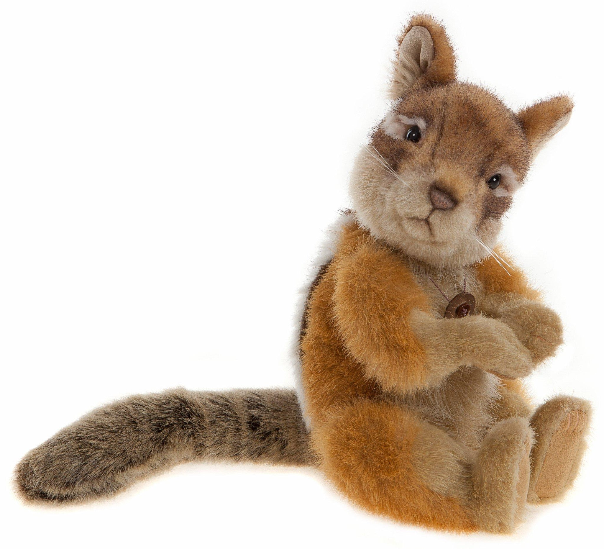 Chase Squirrel - Charlie Bears Plush Stuffed Animal