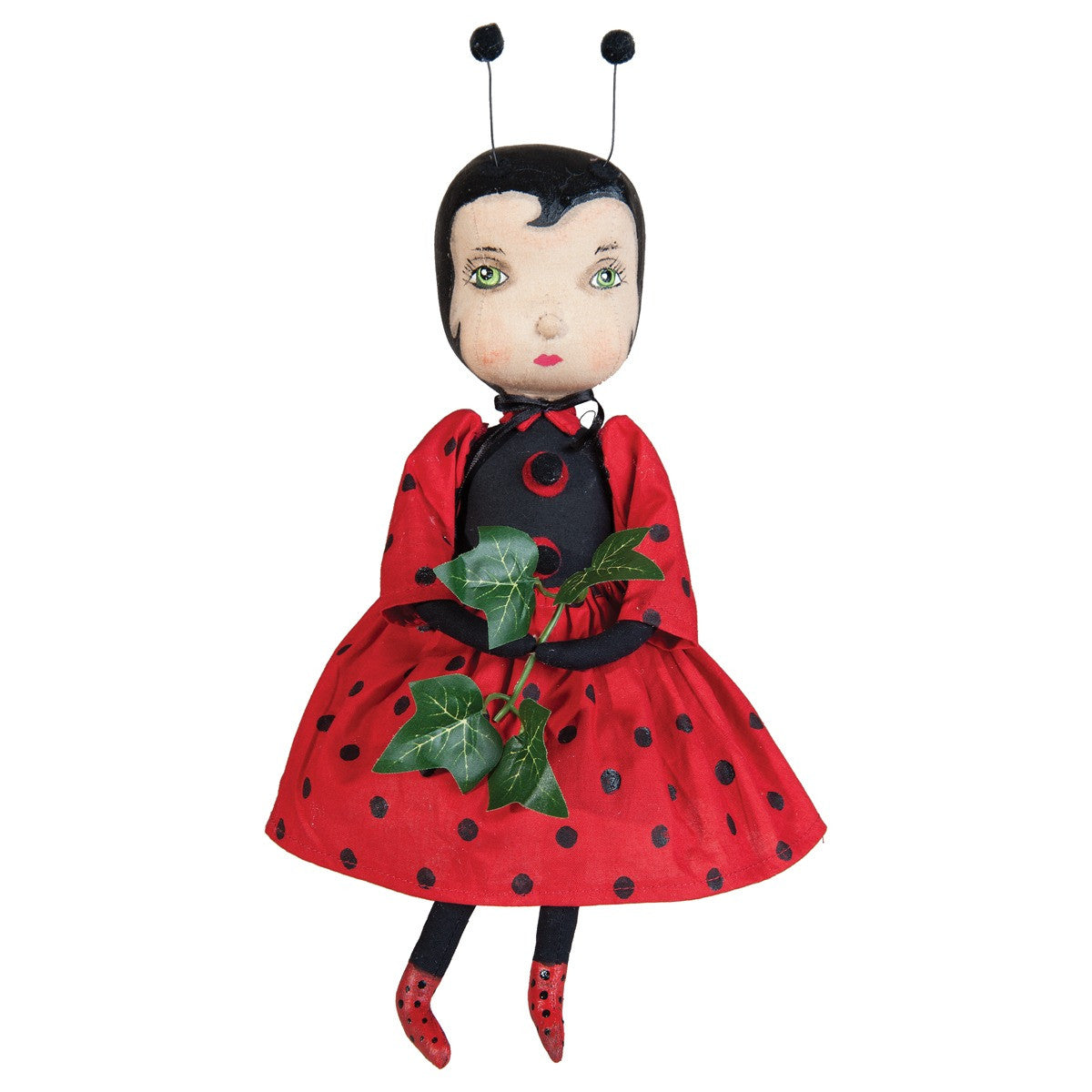 Cherry Ladybug Doll by Joe Spencer