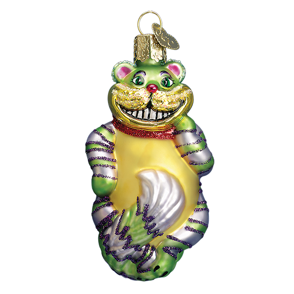 Cheshire Cat Ornament - Alice in Wonderland