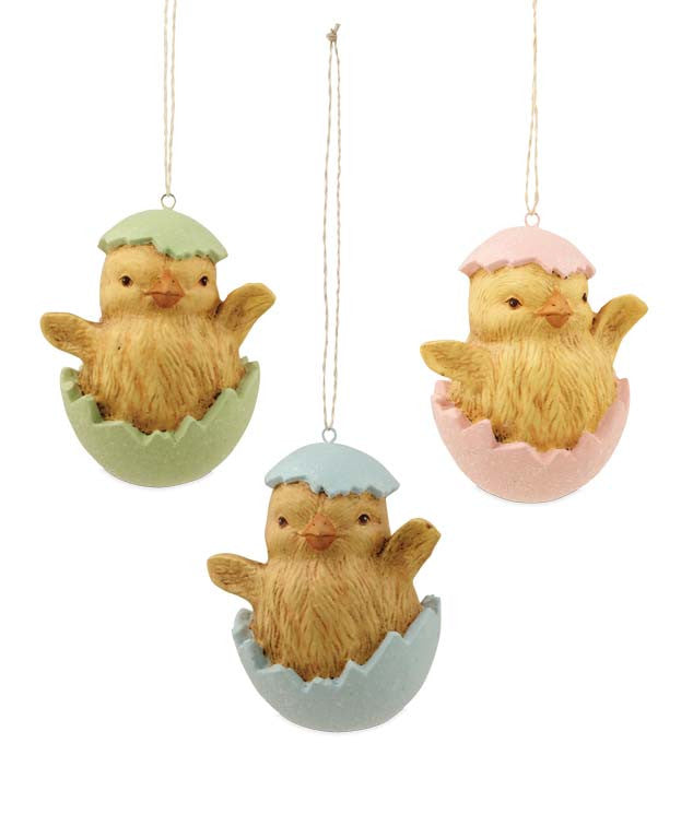 Chicks in Easter Egg Ornaments by Bethany Lowe