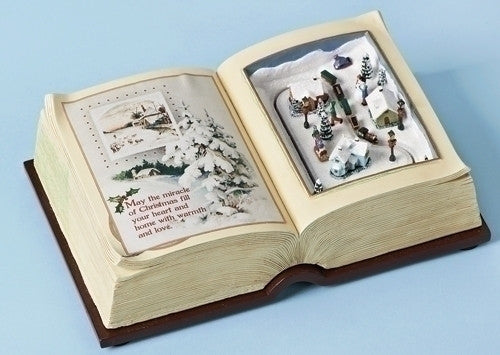 Christmas Book Music Box