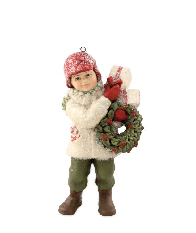 Bethany Lowe Christmas Delivery Danny Ornament