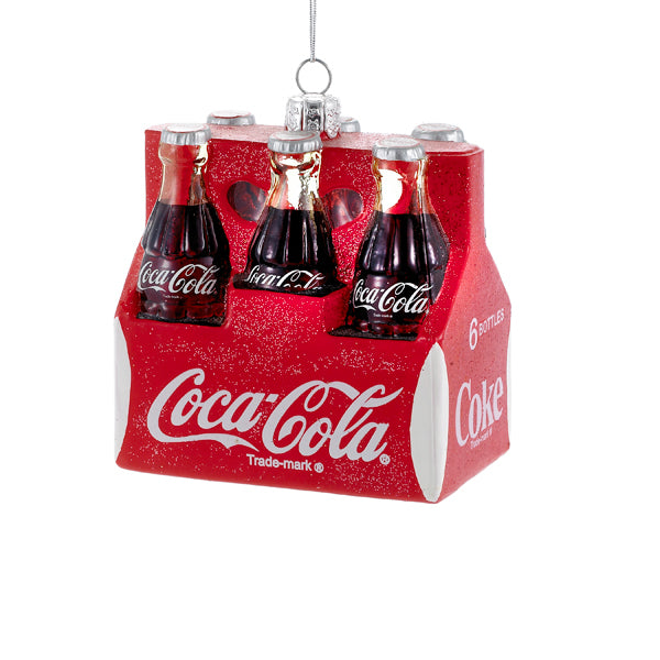 Coca Cola Six Pack of Bottles Ornament