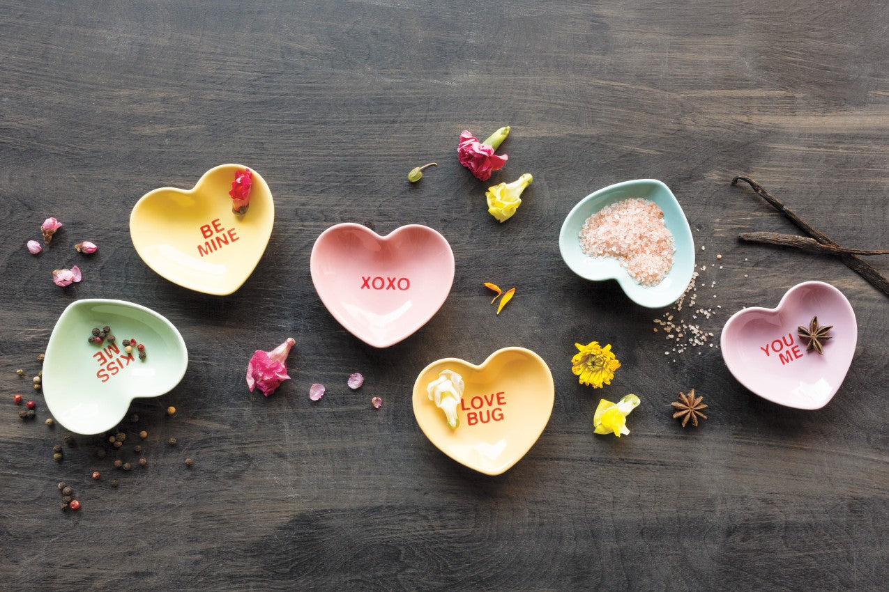 Conversation Heart Dishes