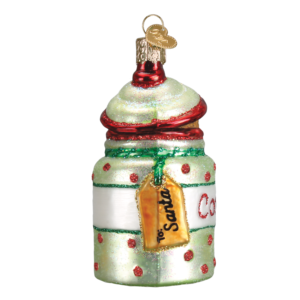 Cookies for Santa Cookie Jar Ornament by Old World Christmas