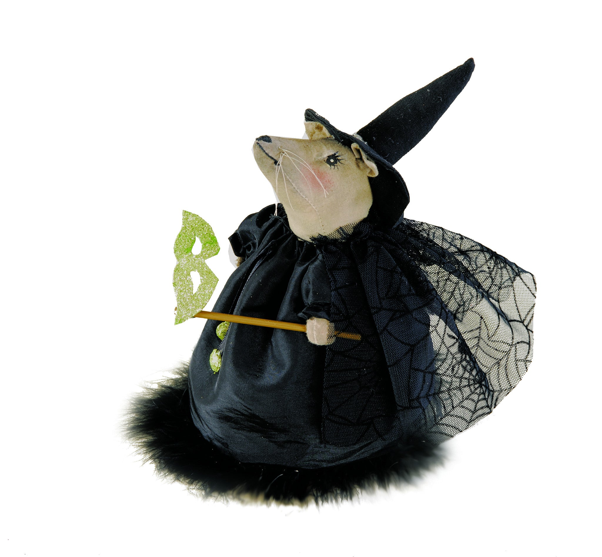Cordelia Mouse Witch - Joe Spencer Halloween Doll