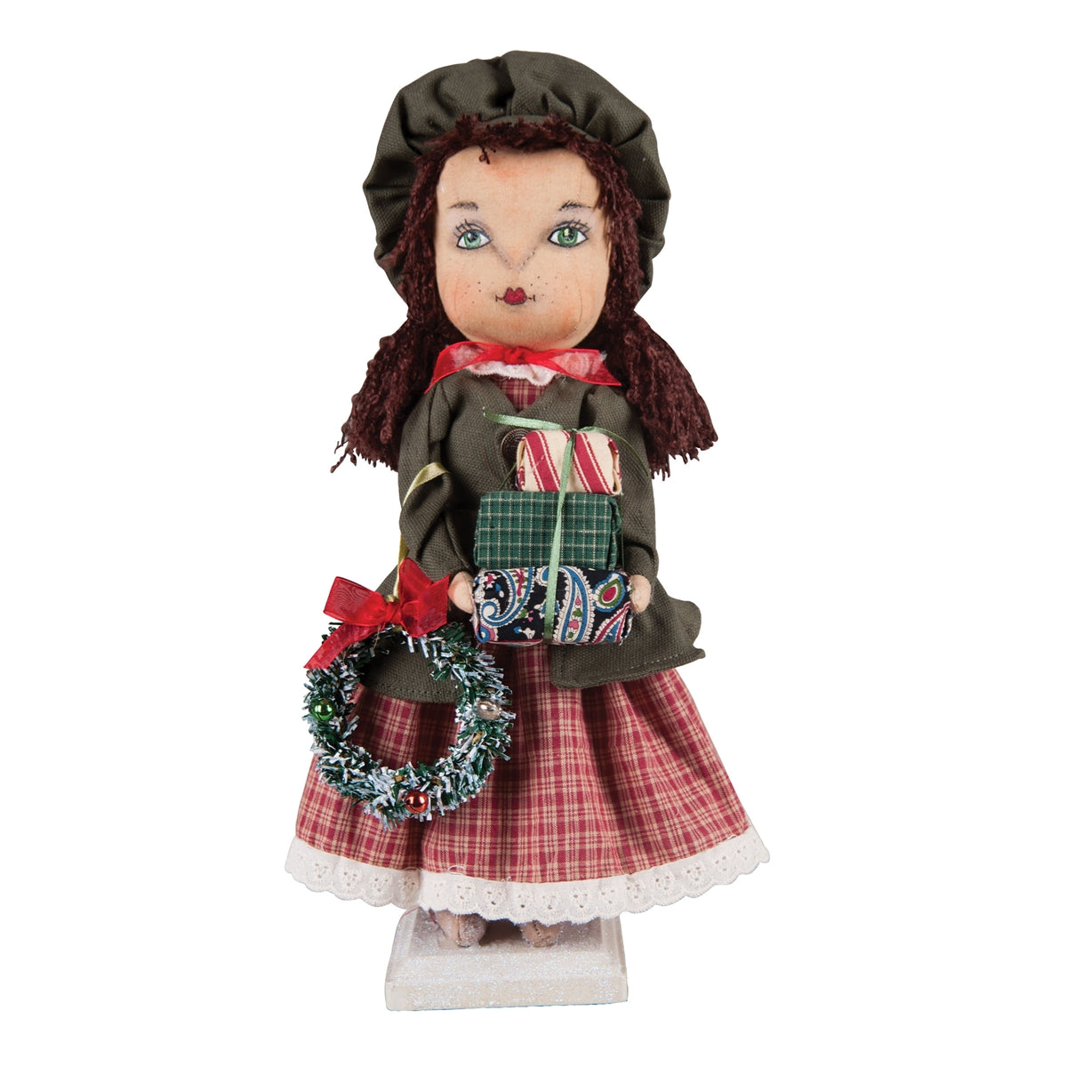 Corrine with Christmas Gifts Standing Doll by Joe Spencer
