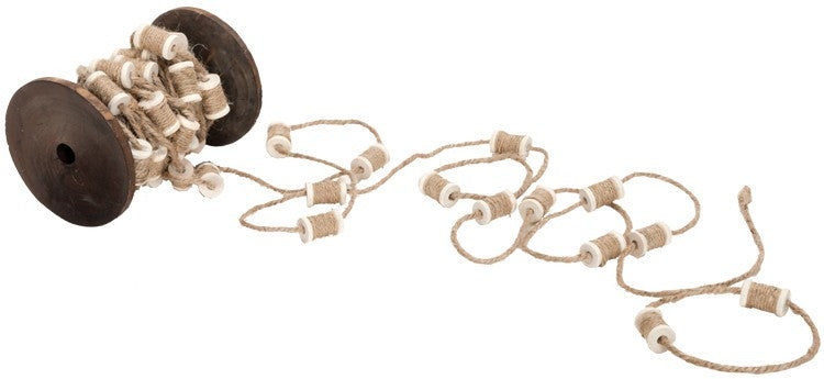 Country Spool Garland