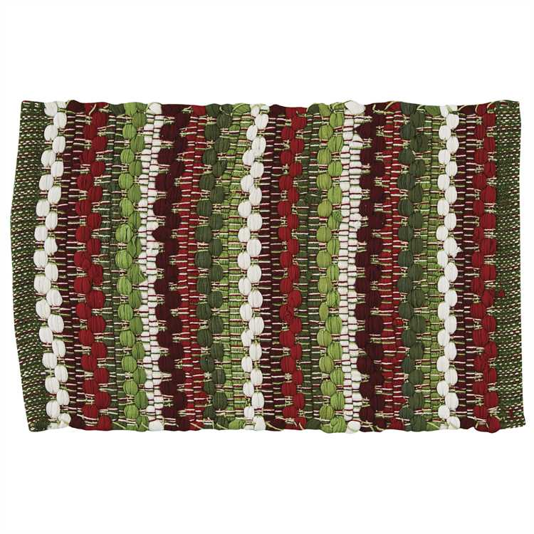 Cozy Christmas Cotton Weave Placemats