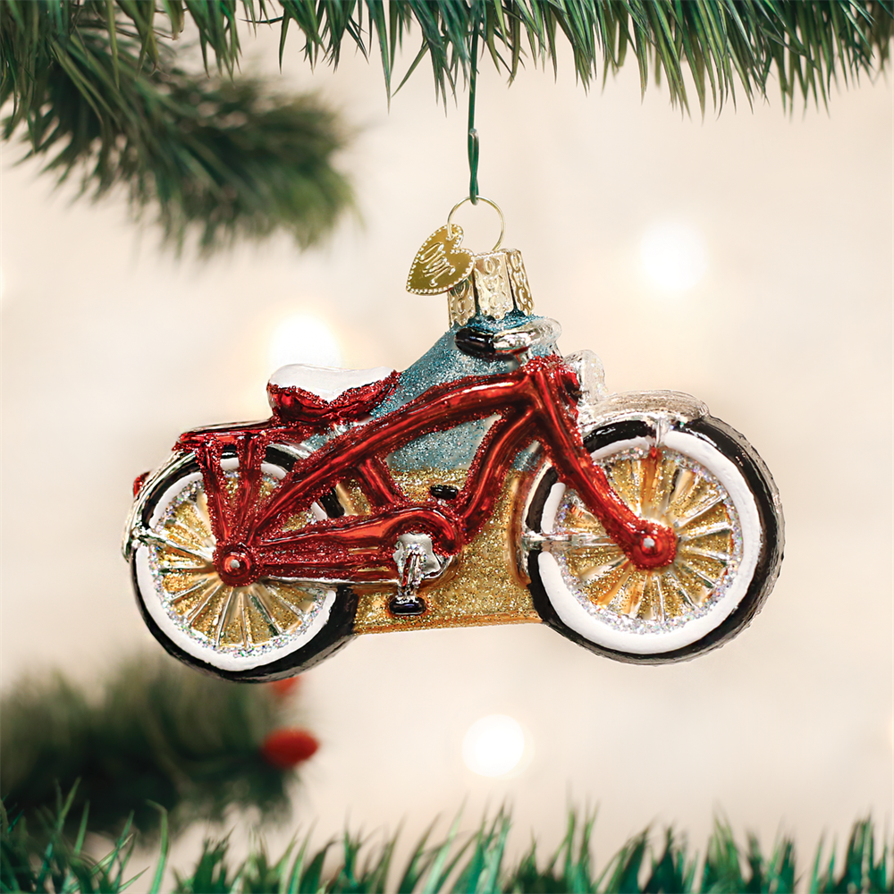 Cruiser Bike Ornament
