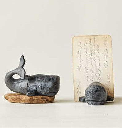 Whale Photo Memo Place Card Holder