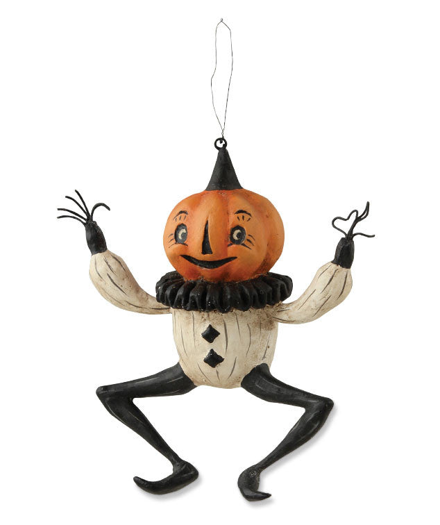 Dancing Pumpkin Ornament - Johanna Parker