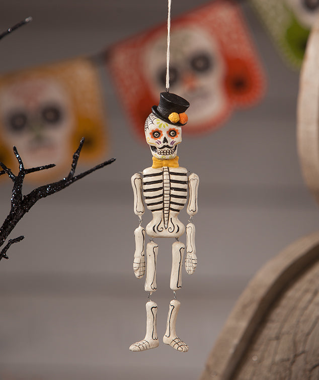 Day of the Dead Skeleton Ornament