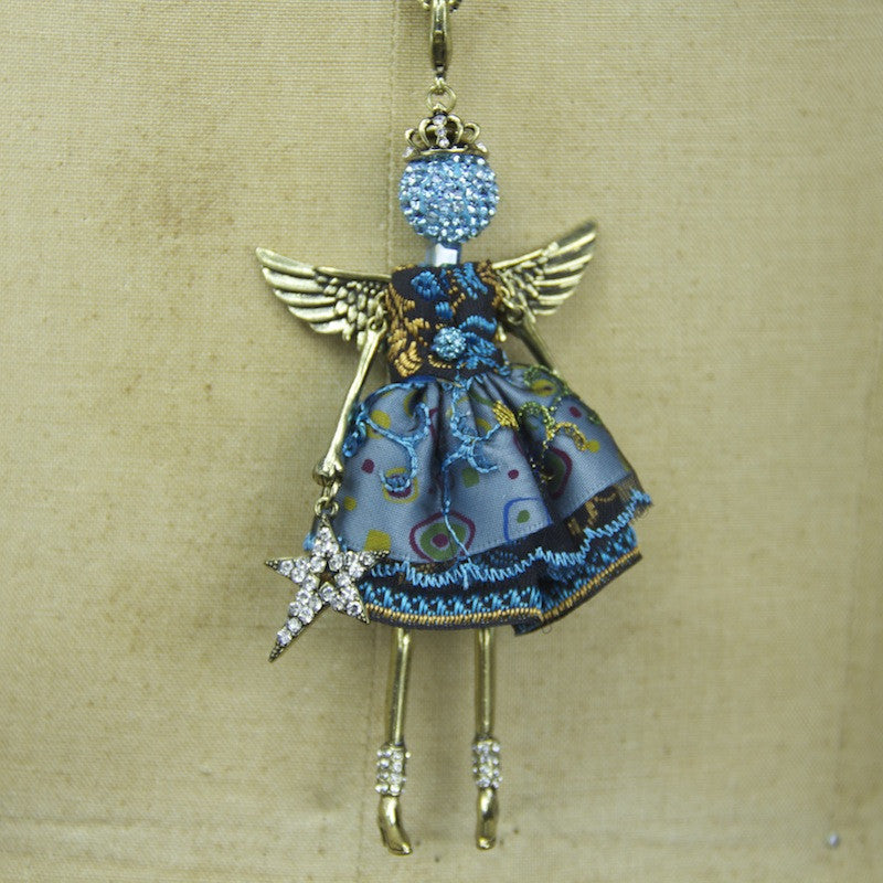 Turqouise Angel Necklace