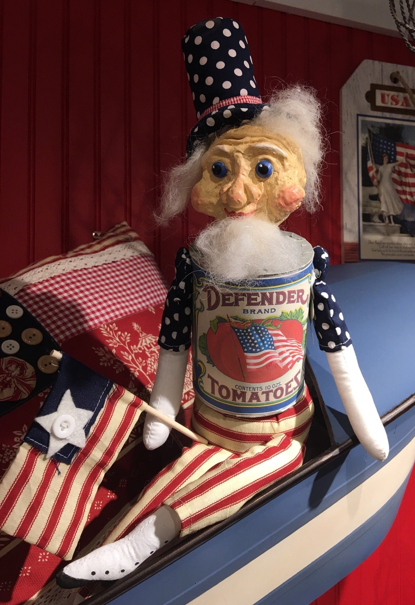 Defender Uncle Sam Doll