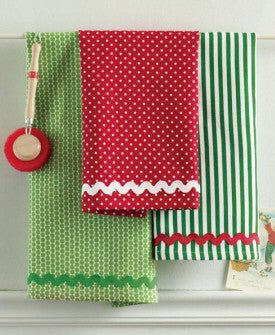 Ric Rac Dishtowel Set
