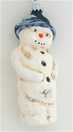 Merry Old Snowman Ornament