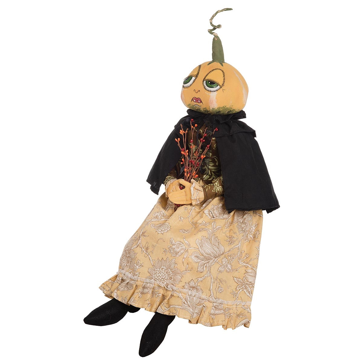 Joe Spencer Effie Pumpkin Head Doll - 2019
