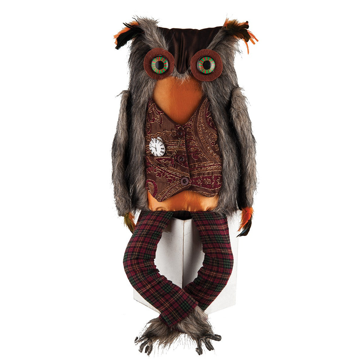 Einstein Owl Figure by Gallerie II Einstien Owl