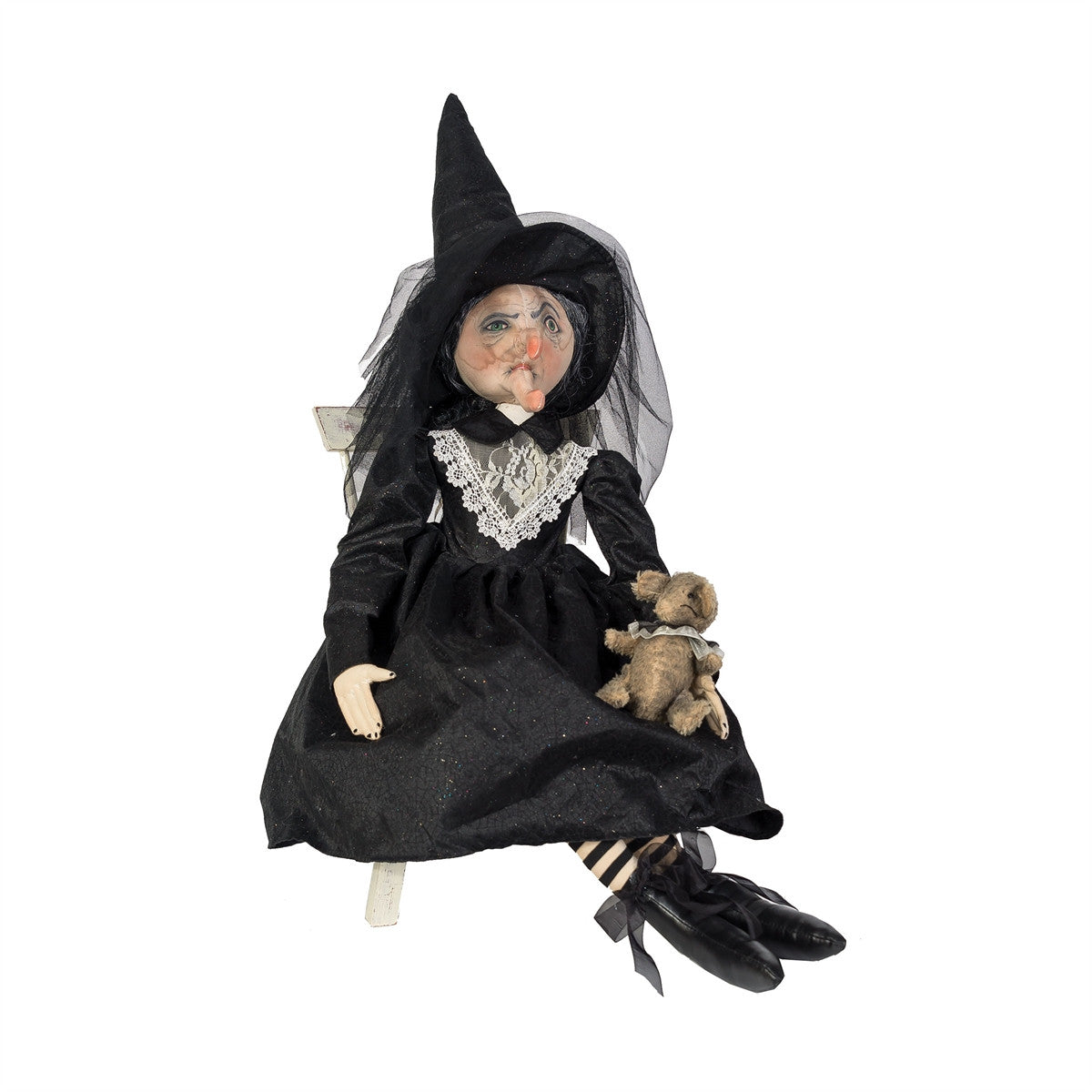 Joe Spencer Elenora Witch with Rat Doll