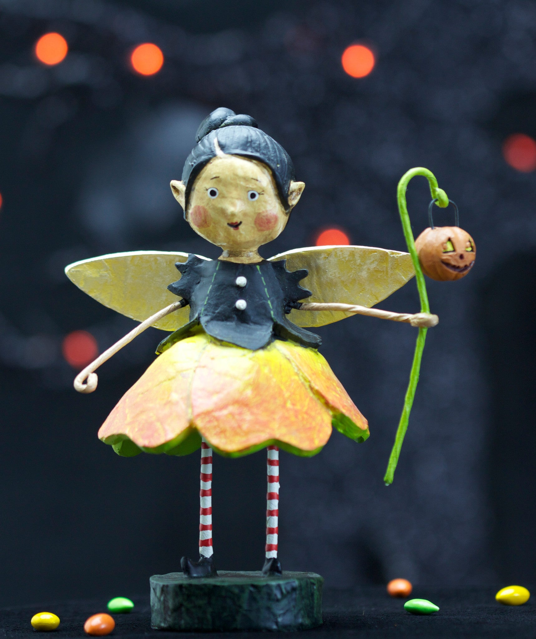 Ember Goblinglow Fairy - Lori Mitchell Halloween Figurine