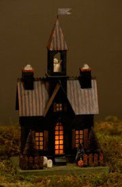 Haunted Tower House Lantern