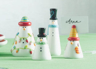 Snowmen Placecard Holders