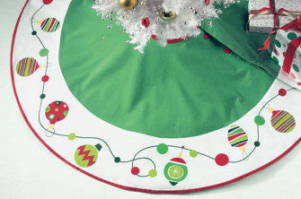 Whimsy Ornament Tree Skirt