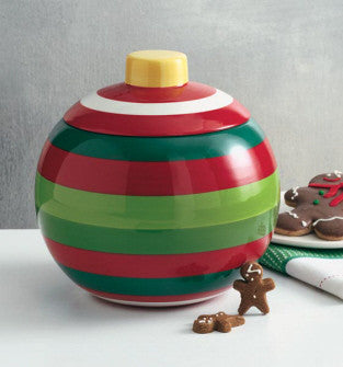 Whimsy Ornament Ceramic Cookie Jar