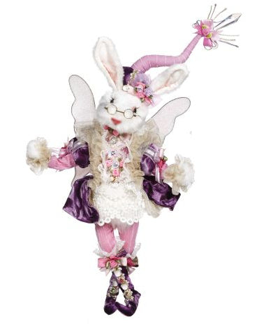 Mark Roberts Fairy Rabbit Girl, Pink and Purple