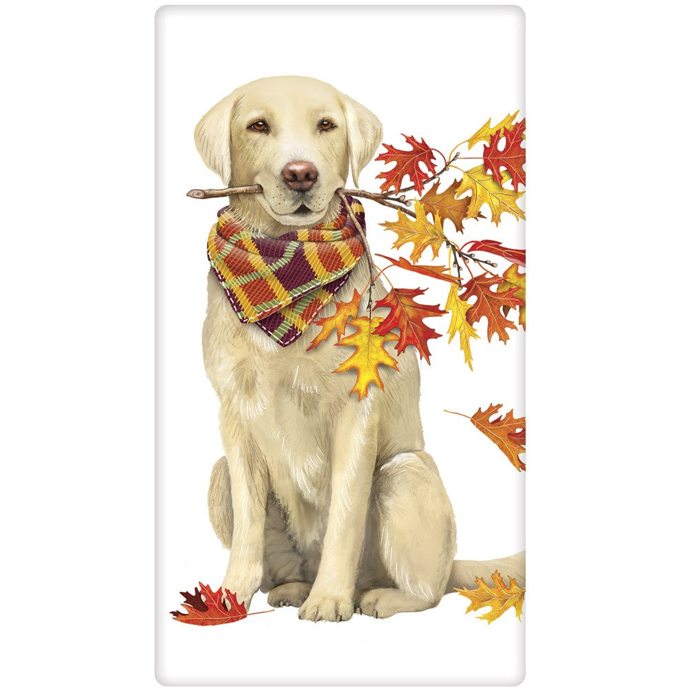 Fall Fun Lab Towel by Mary Lake Thompson