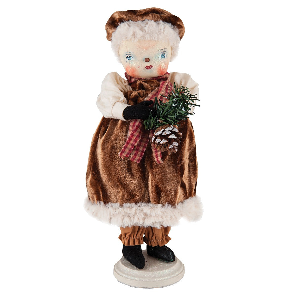 Fannie Snow Woman - Joe Spencer Christmas Snowmen Dolls