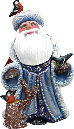 Feathered Friends Santa - G. DeBrekht Masterpiece