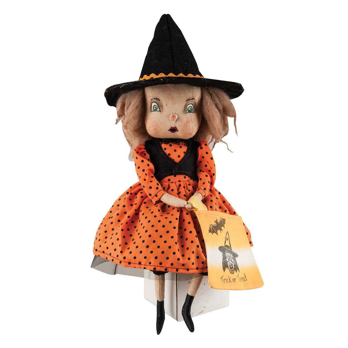 Felicity Witch Cloth Doll - Joe Spencer Halloween
