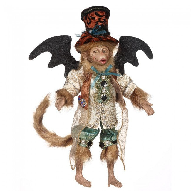 Festive Flying Monkey - Turquoise Mark Roberts