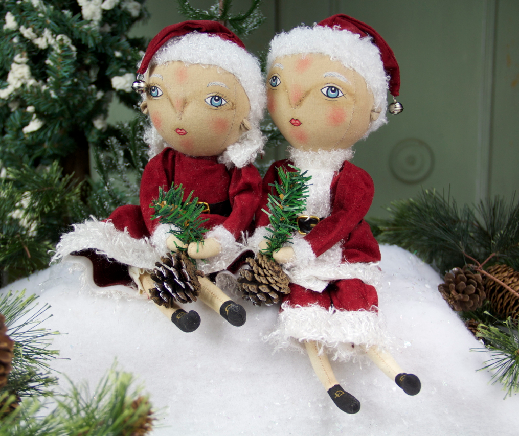 Finn & Folley Christmas Dolls - Joe Spencer