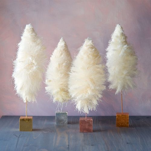 Fluffy Cream Trees