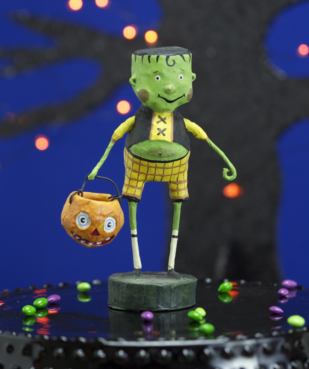 Little Frankie Stein Lori Mitchell Frankenstein Halloween Figurine