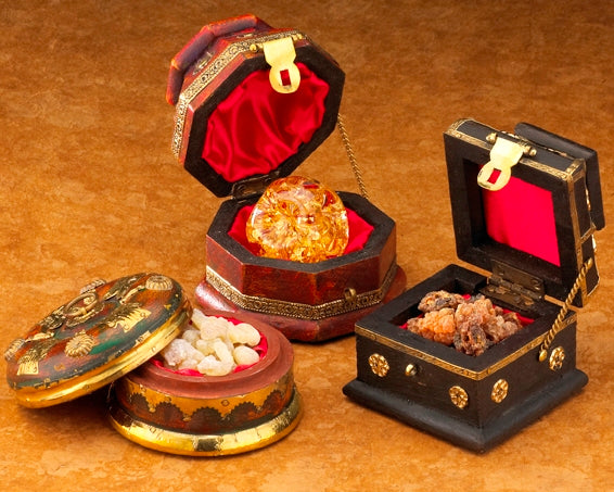 Frankincense, Gold and Myrrh Boxed Gift Set