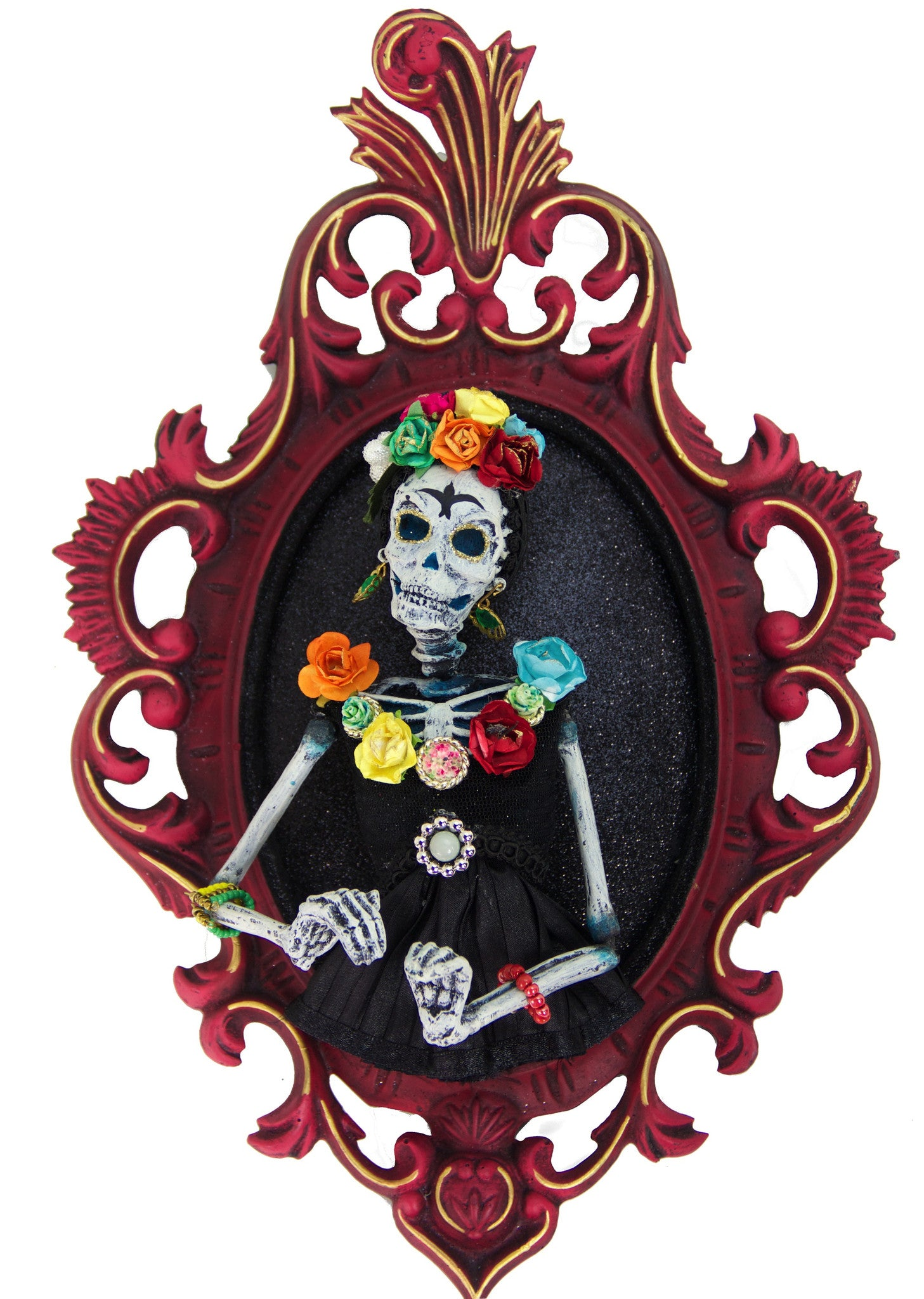 Day of the Dead Frida Portrait
