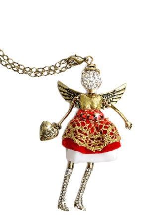 Friendship Angel Necklace