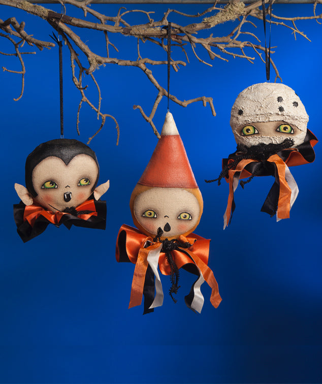 Ghoulish Halloween Ornaments