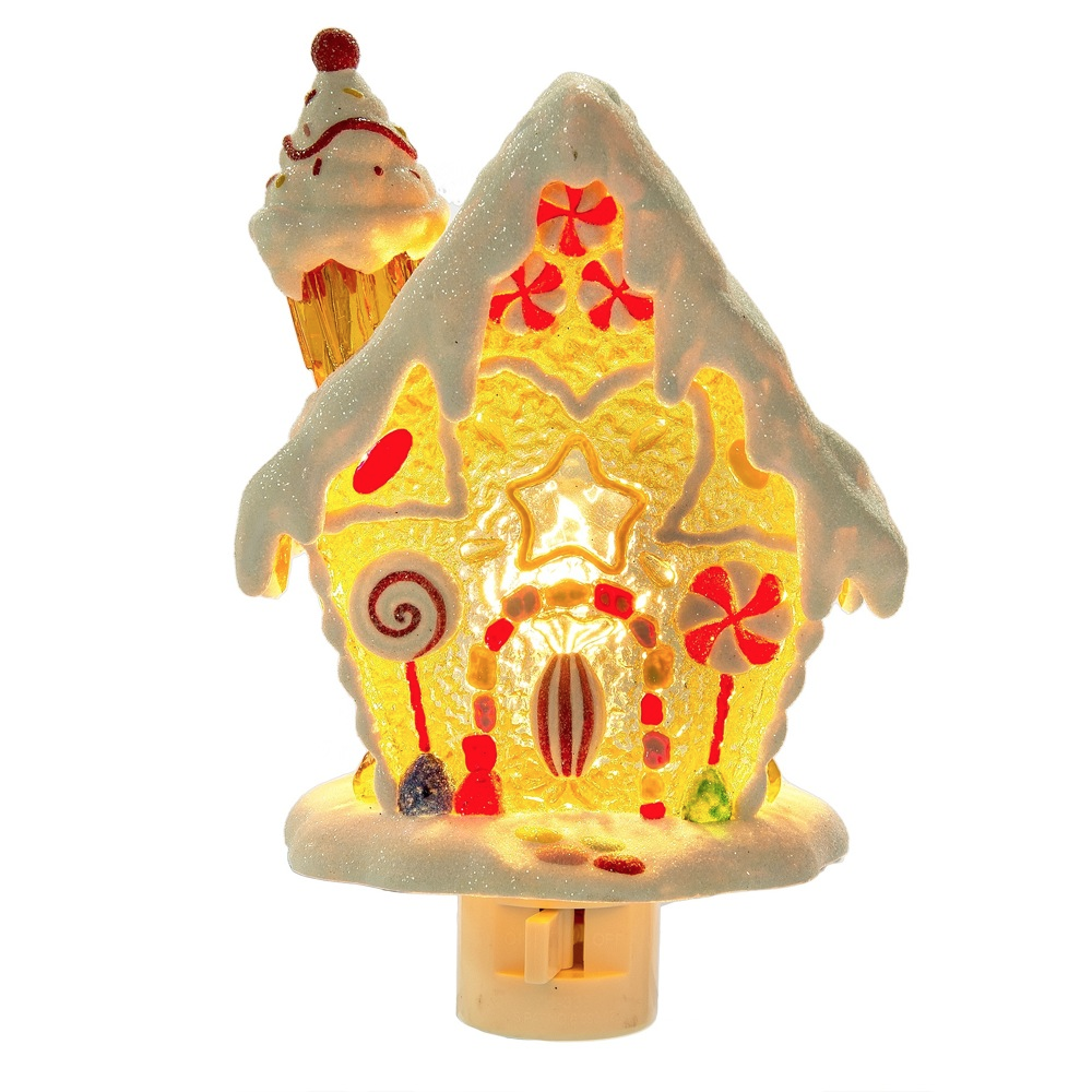 Gingerbread House Night Light - Christmas