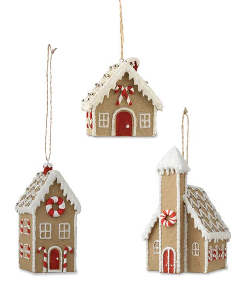 Gingerbread House Ornaments Bethany Lowe